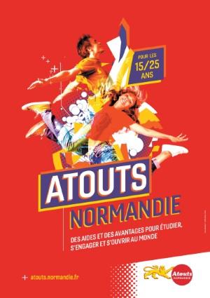 affiche web Atouts Normandie